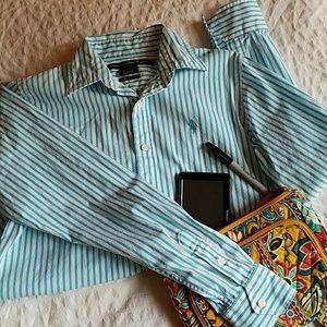 Ralph Lauren classic striped shirt
